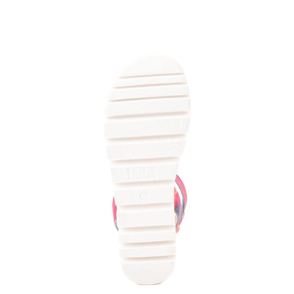 alternate view Womens MIA Mady Sandal - White / Tie DyeALT3
