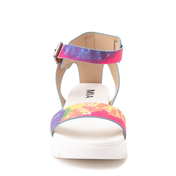 alternate view Womens MIA Mady Sandal - White / Tie DyeALT4