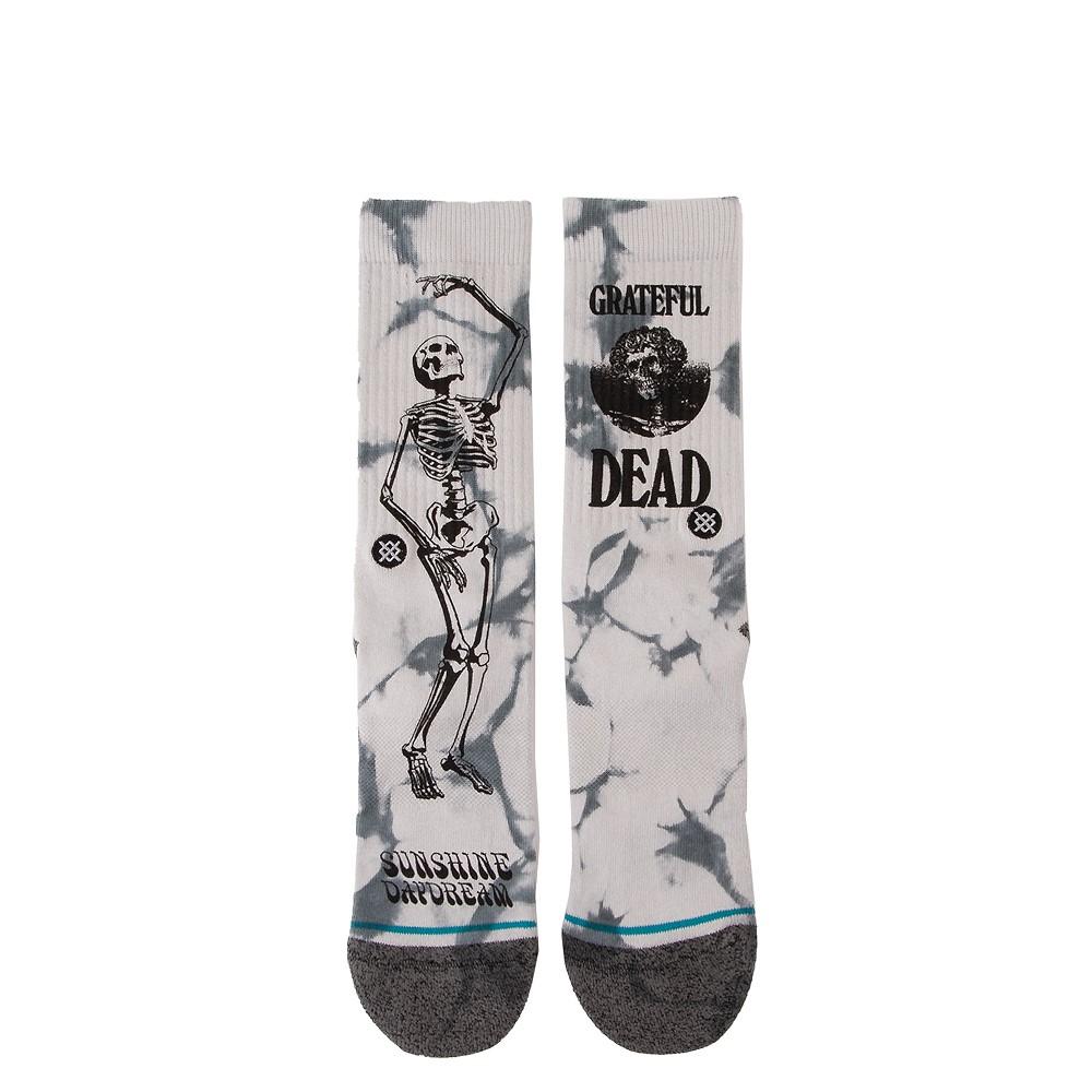 Mens Stance Good Ol' Grateful Dead Crew Socks - Gray