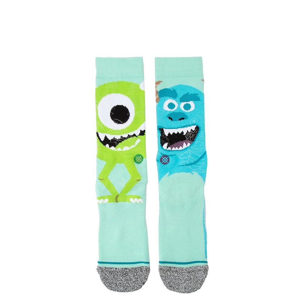 Mens Stance Monsters Inc. Crew Socks - Blue