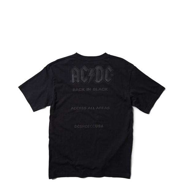 alternate view Mens DC AC/DC Back in Black Tee - BlackALT1