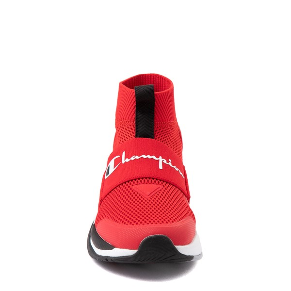 alternate view Champion XG Pro Athletic Shoe - Big Kid - RedALT4