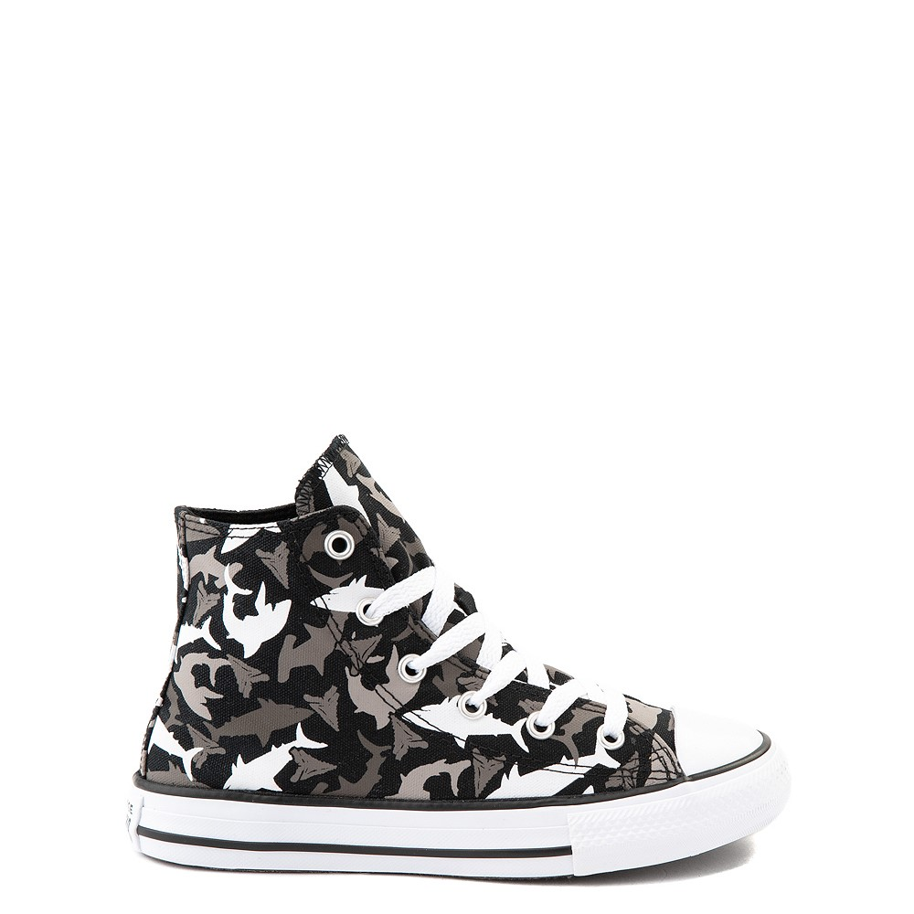 Converse Chuck Taylor All Star Hi Sharks Sneaker - Little Kid / Big Kid - Black