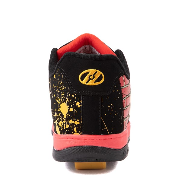 alternate view Mens Heelys Split MTV Skate Shoe - Black / RedALT4