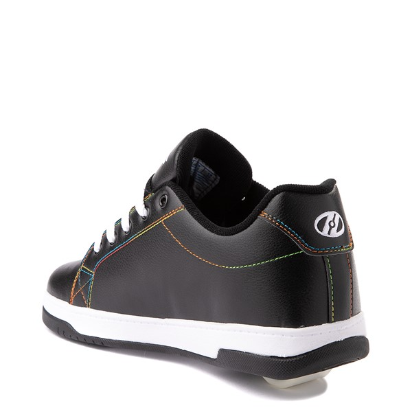 alternate view Womens Heelys Split MTV Skate Shoe - Black / RainbowALT1
