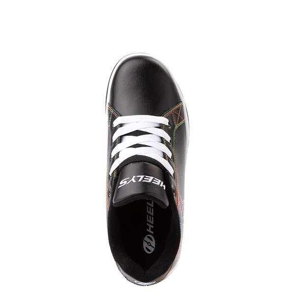 alternate view Womens Heelys Split MTV Skate Shoe - Black / RainbowALT2