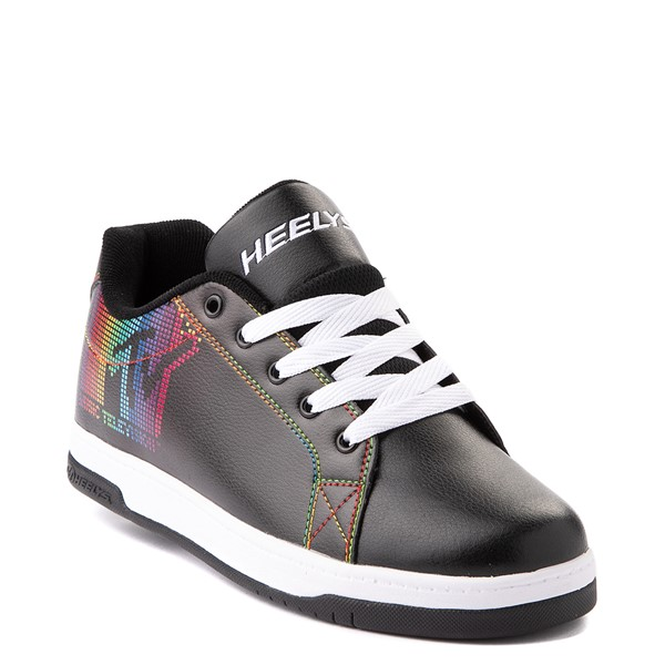 alternate view Womens Heelys Split MTV Skate Shoe - Black / RainbowALT5
