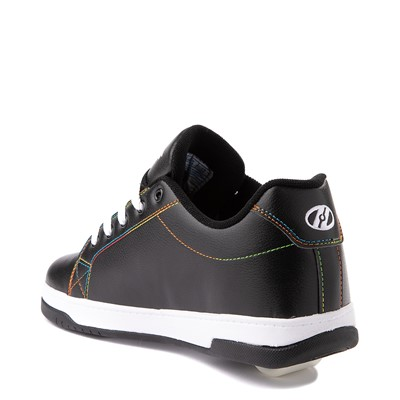 Alternate view of Womens Heelys Split MTV Skate Shoe - Black / Rainbow
