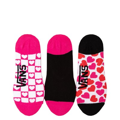 Alternate view of Womens Vans Heart Canoodle Liners 3 Pack - Multicolor