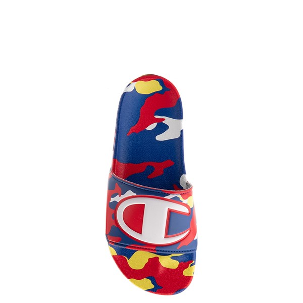 alternate view Champion IPO Camp Slide Sandal - Big Kid - Multicolor CamoALT1