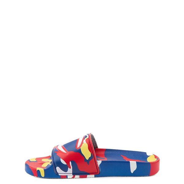 alternate view Champion IPO Camp Slide Sandal - Big Kid - Multicolor CamoALT2