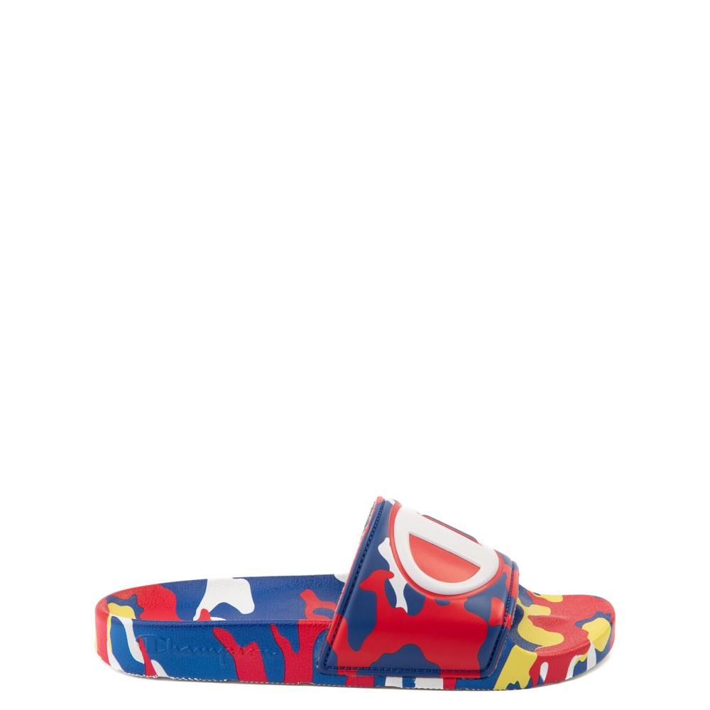 Champion IPO Camp Slide Sandal - Big Kid - Multicolor Camo