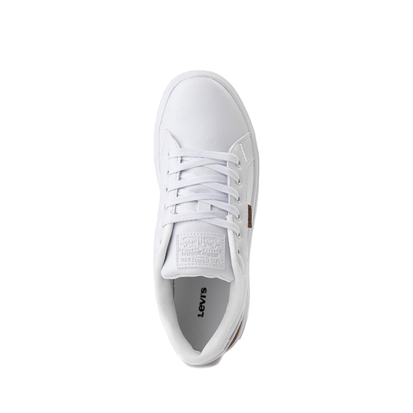 alternate view Levi's 501® Jeffrey Casual Shoe - Big Kid - WhiteALT2