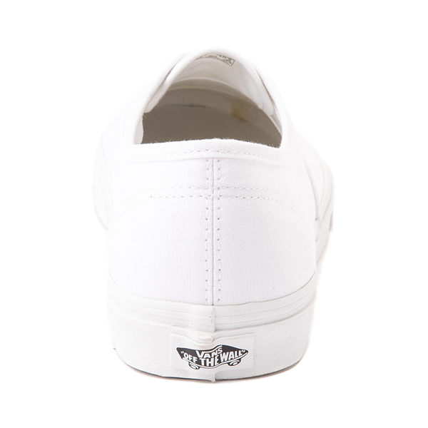 alternate view Vans Authentic Skate Shoe - True WhiteALT4