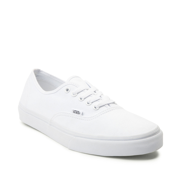 alternate view Vans Authentic Skate Shoe - True WhiteALT5