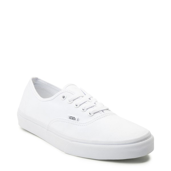 alternate view Vans Authentic Skate Shoe - True WhiteALT1
