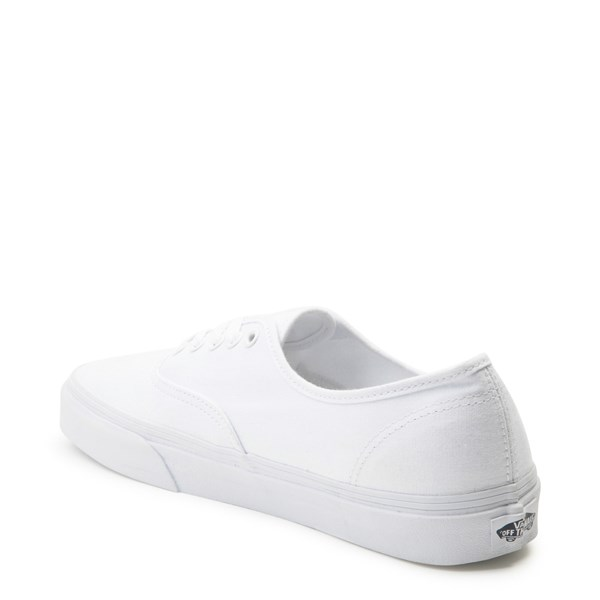 alternate view Vans Authentic Skate Shoe - True WhiteALT2