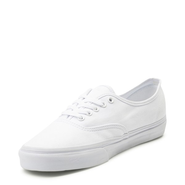 alternate view Vans Authentic Skate Shoe - True WhiteALT3