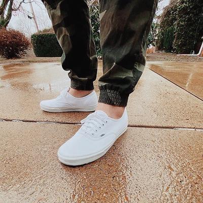 Vans Authentic Skate Shoe - True White | Journeys
