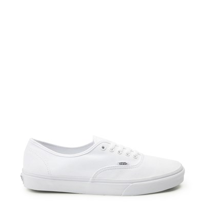 Main view of White Vans Authentic Skate Shoe