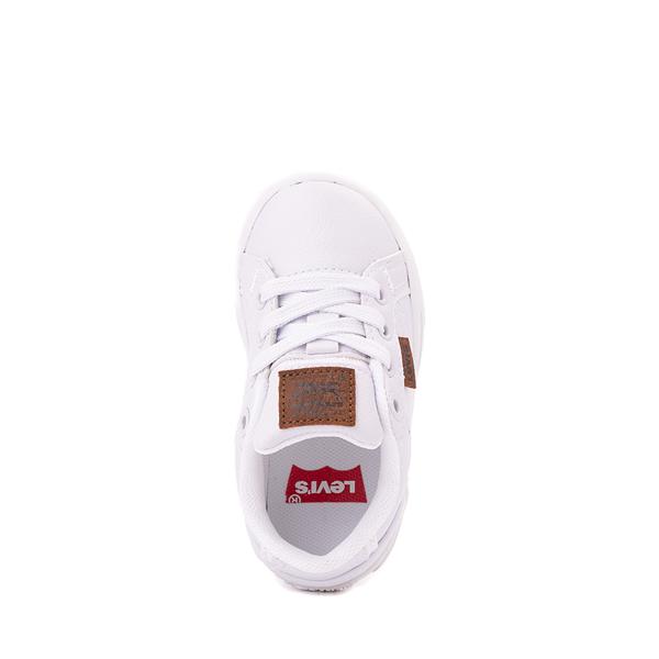 alternate view Levi's 501® Jeffrey Casual Shoe - Toddler - WhiteALT2