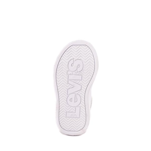 alternate view Levi's 501® Jeffrey Casual Shoe - Toddler - WhiteALT3