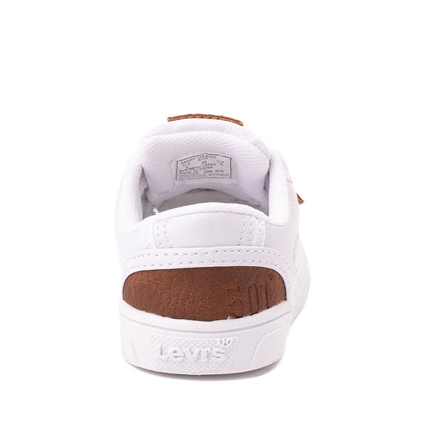 alternate view Levi's 501® Jeffrey Casual Shoe - Toddler - WhiteALT4