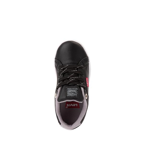 alternate view Levi's 501® Jeffrey Casual Shoe - Toddler - BlackALT2