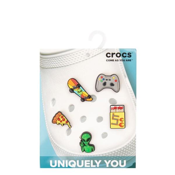 alternate view Crocs Jibbitz™ Gamer Shoe Charms 5 Pack - MulticolorALT2