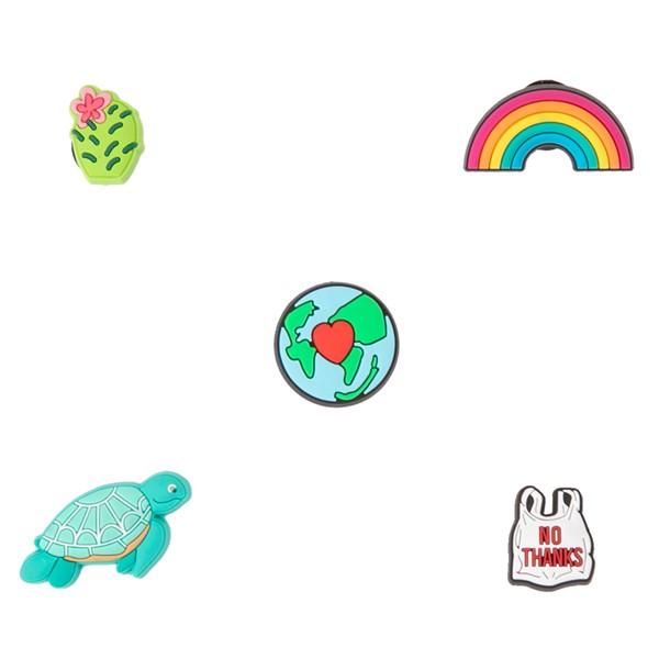 Crocs Jibbitz™ Our Planet Shoe Charms 5 Pack - Multicolor