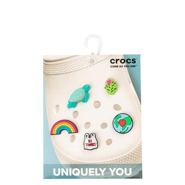 alternate view Crocs Jibbitz™ Our Planet Shoe Charms 5 Pack - MulticolorALT2