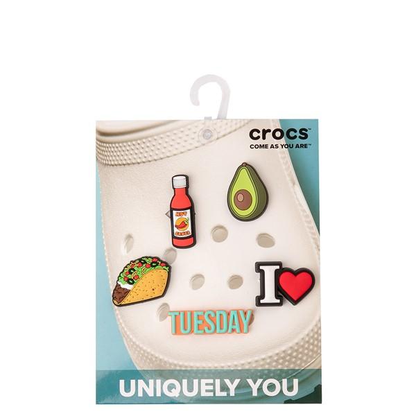 alternate view Crocs Jibbitz™ Taco Tuesday Shoe Charms 5 Pack - MulticolorALT2