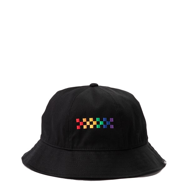 Vans Pride Bucket Hat - Black / Rainbow