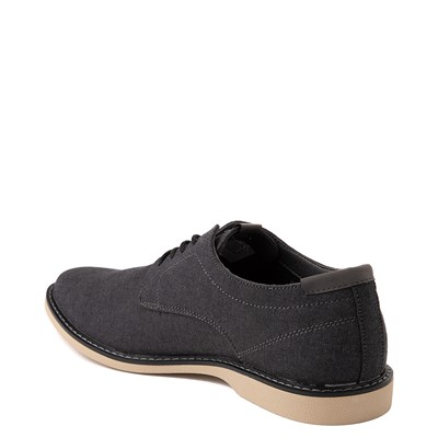 Alternate view of Mens Crevo Buddy Oxford Casual Shoe - Black