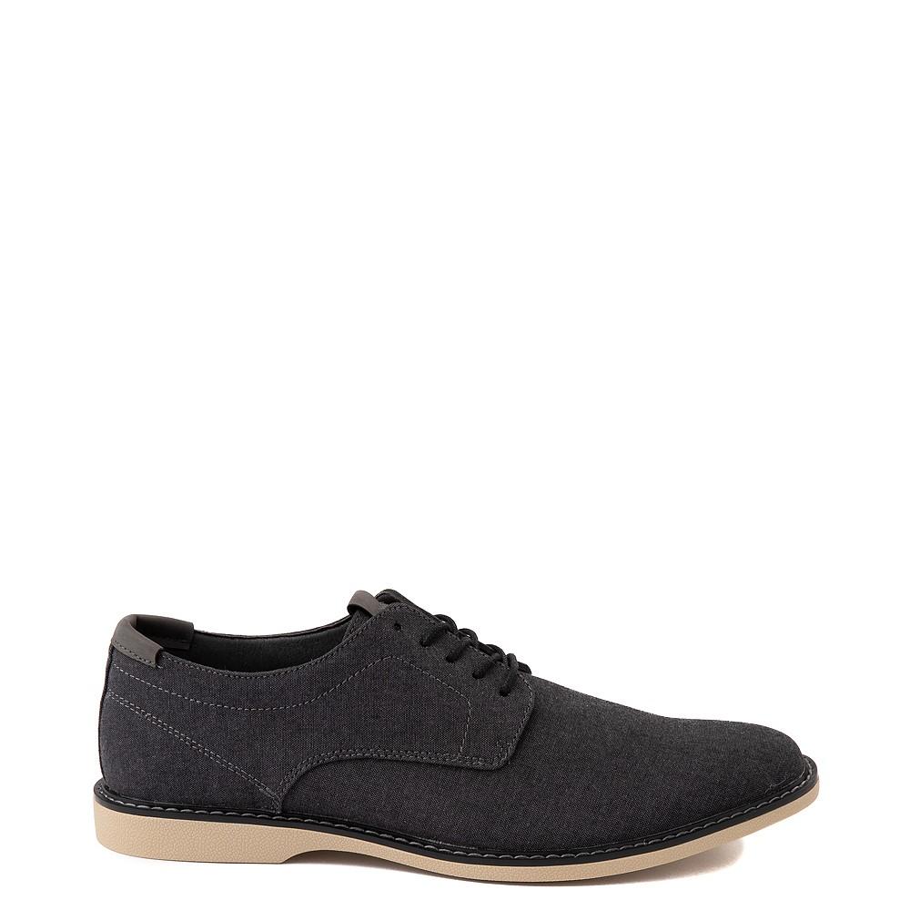 Mens Crevo Buddy Oxford Casual Shoe - Black