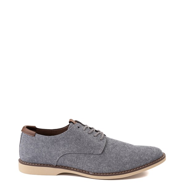 Main view of Mens Crevo Buddy Oxford Casual Shoe - Navy Chambray