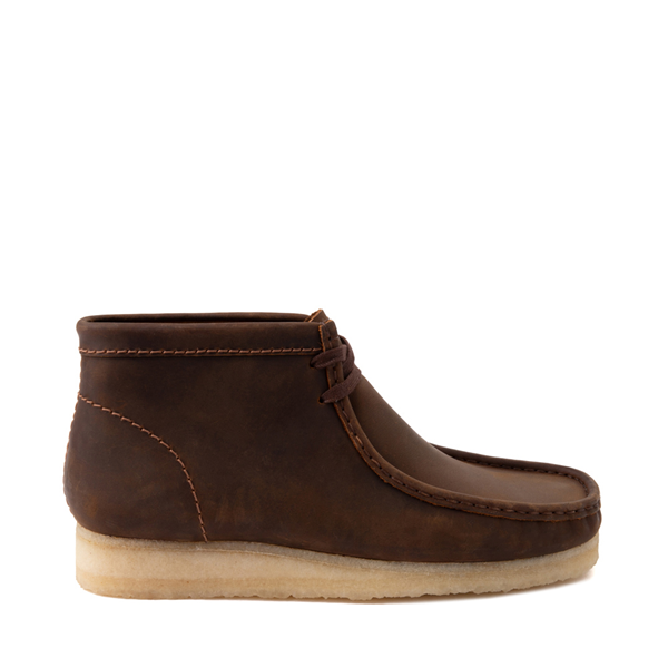 Mens Clarks Originals Wallabee Chukka Boot - Beeswax
