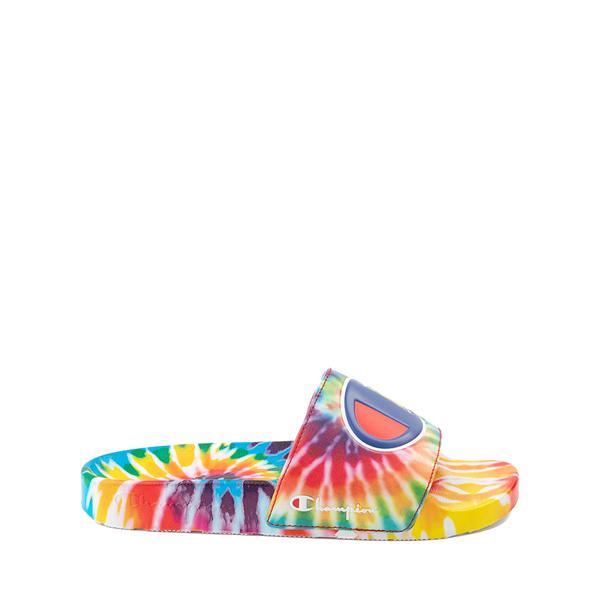 Main view of Champion IPO Slide Sandal - Big Kid - Tie Dye