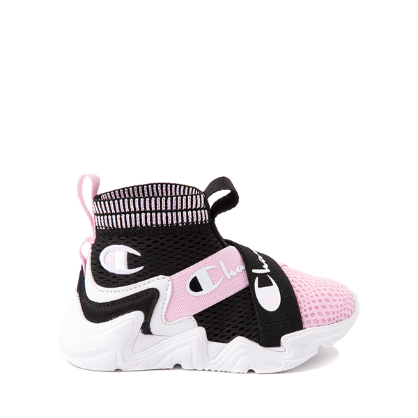 Champion Hyper C X Athletic Shoe - Baby / Toddler - Black / White / Pink