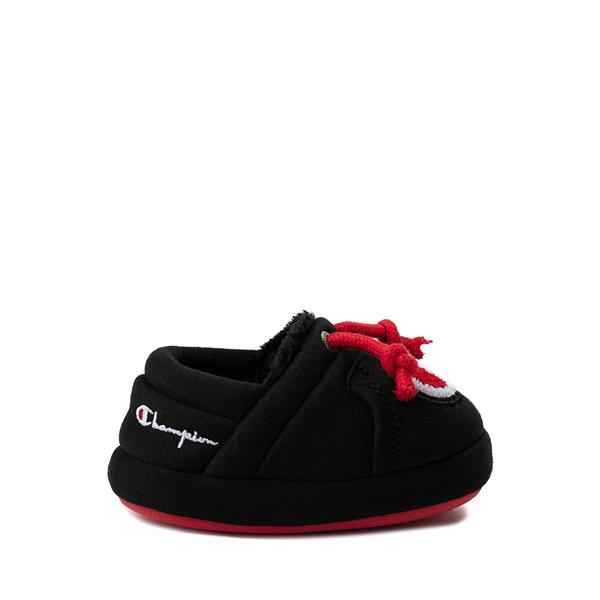 Champion University Slipper - Baby / Toddler - Black / Red