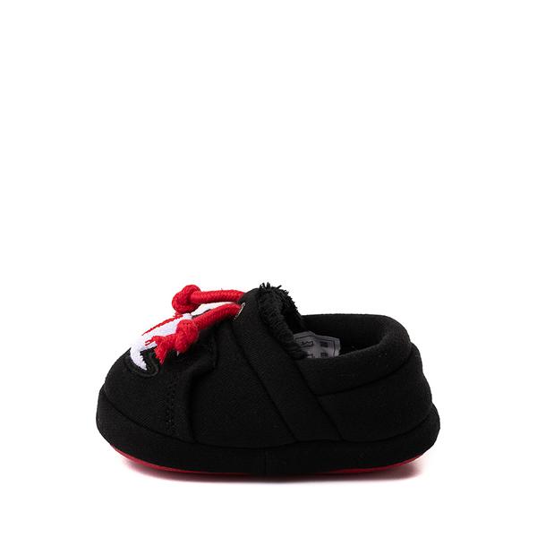 alternate view Champion University Slipper - Baby / Toddler - Black / RedALT1