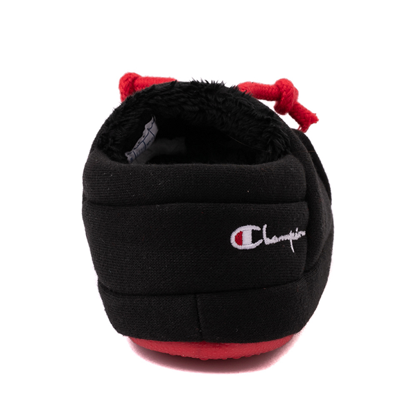 alternate view Champion University Slipper - Baby / Toddler - Black / RedALT4