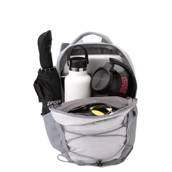 alternate view The North Face Borealis Mini Backpack - Metallic WhiteALT1