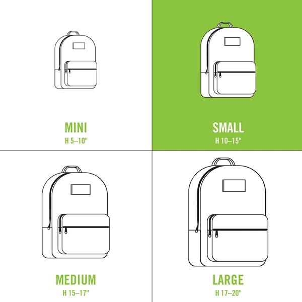alternate view The North Face Borealis Mini Backpack - Metallic WhiteALT1C