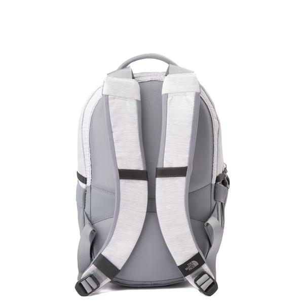 alternate view The North Face Borealis Mini Backpack - Metallic WhiteALT2