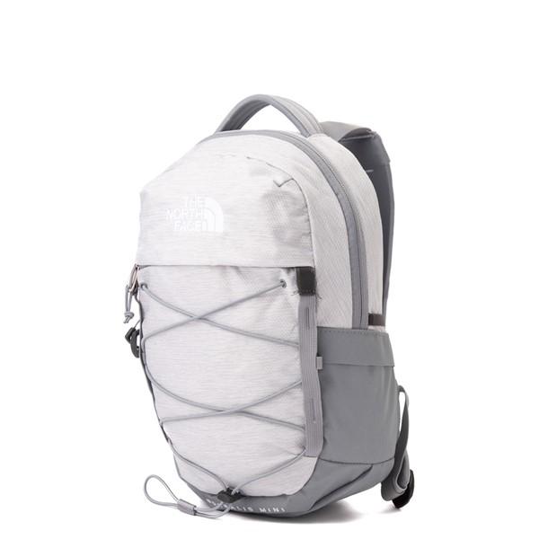 alternate view The North Face Borealis Mini Backpack - Metallic WhiteALT4
