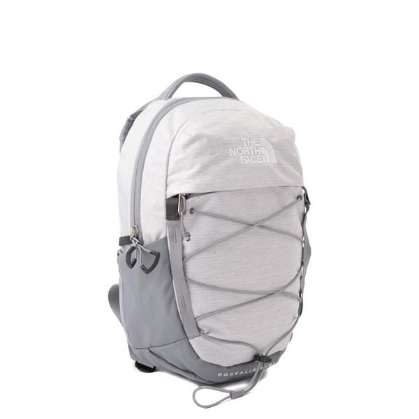alternate view The North Face Borealis Mini Backpack - Metallic WhiteALT4B