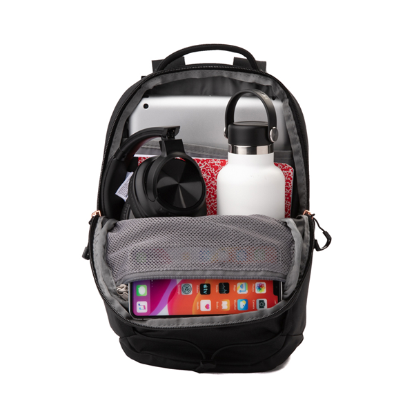 alternate view Womens The North Face Borealis Mini Backpack - Metallic CoralALT1