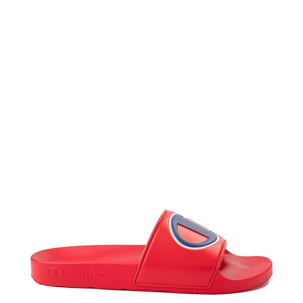 Main view of Mens Champion IPO Slide Sandal - Red