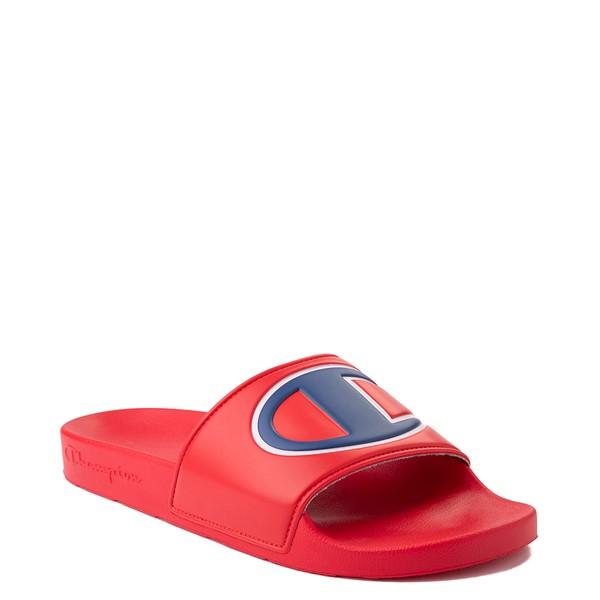 alternate view Mens Champion IPO Slide Sandal - RedALT5